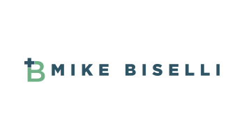 logo for Mike Biselli podcast