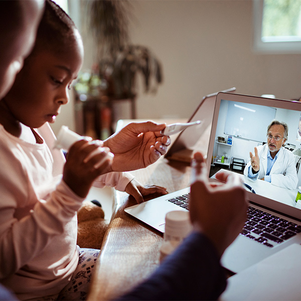 Online Consultation with their Doctor